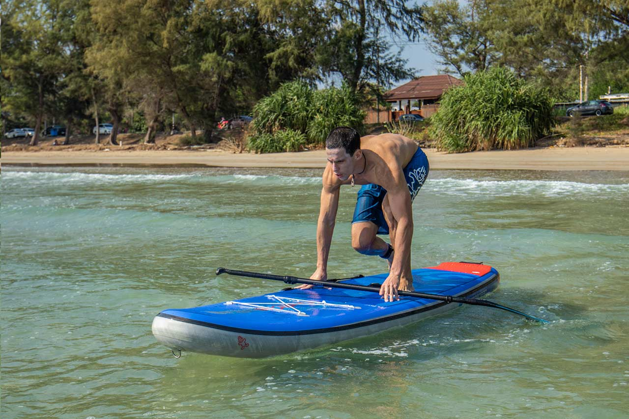 Starboard-stand-up-paddle-how-to-stand-up-on-paddle-board